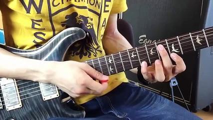 メカニカルなフィンガリング・ギターエクササイズ