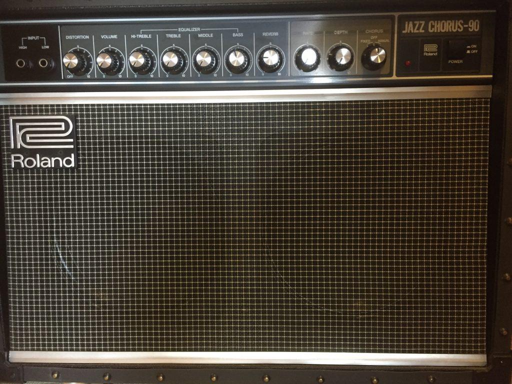エレキギターアンプの正しい使い方【Roland Jazz chorus編】