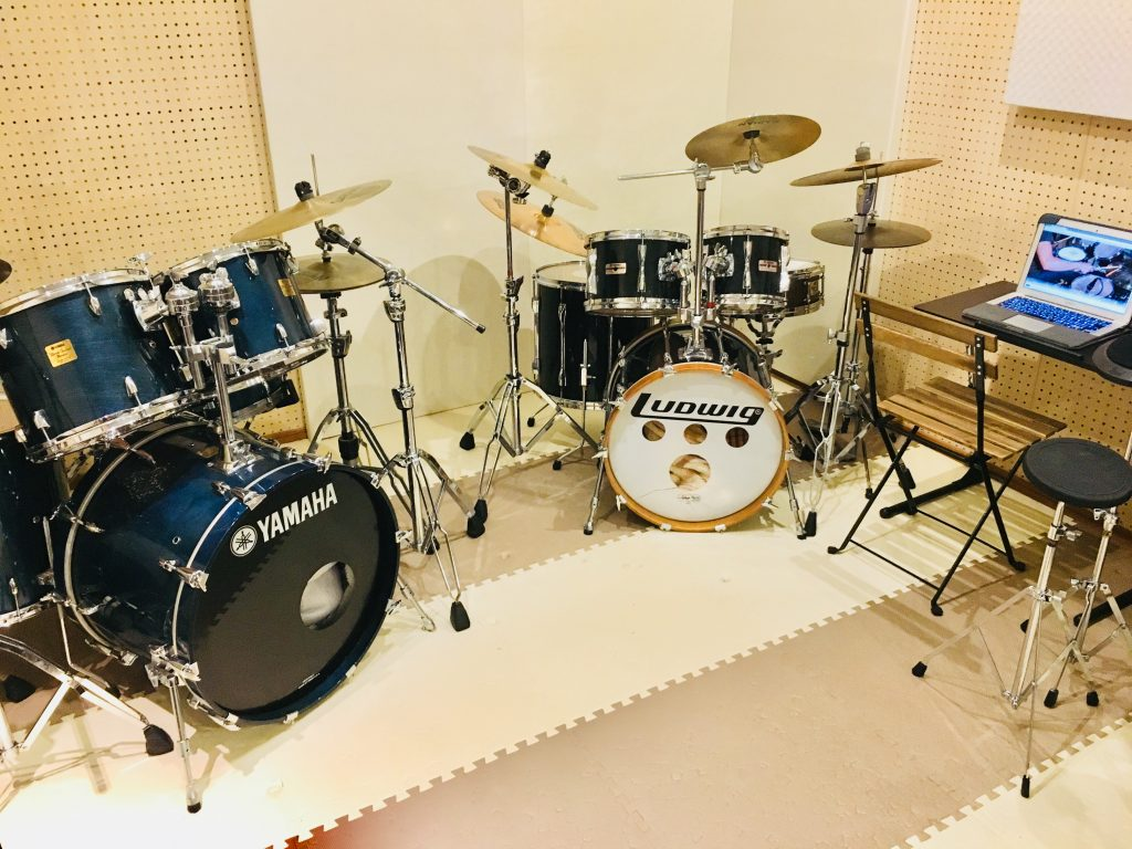 朝倉市ドラム教室