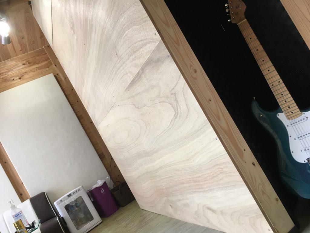 ラブリコで防音の間仕切り壁をDIY レッスンスタジオ